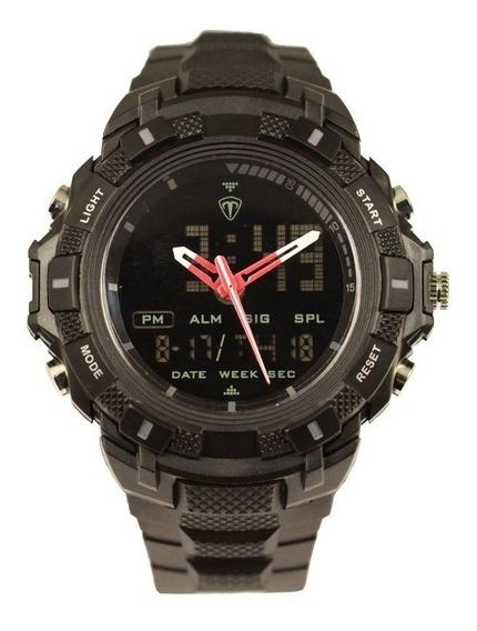 Relógio Masculino Tuguir Anadigi Tg5006 Preto