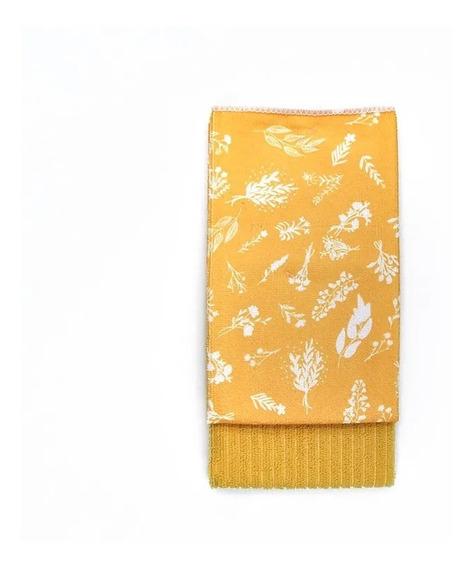 Set Arredo De Repasadores Lisos Y Estampados - Amarillo