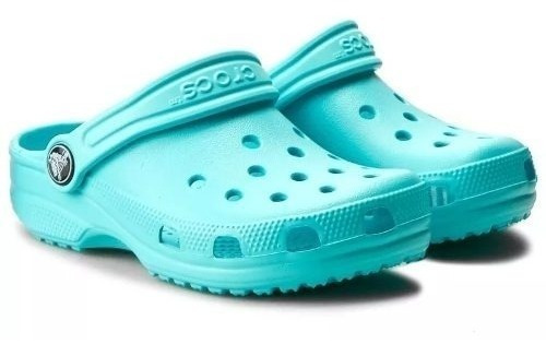 Crocs Originales Classic Adulto Celeste