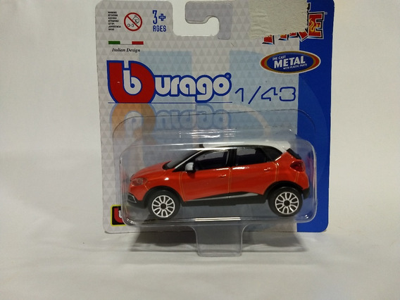 Burago Street Fire - Renault Captur - Escala 1/43