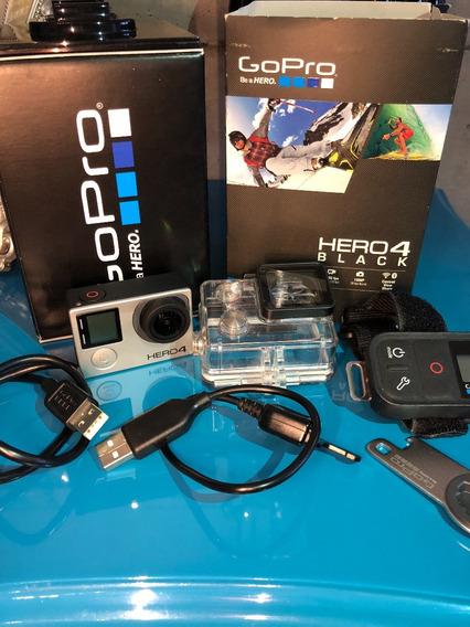 Gopro Hero 4 Black + Controle Remoto Smart + Case