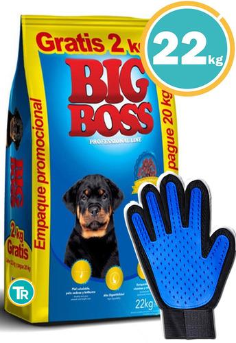 Imagen 1 de 8 de Ración Para Perro Big Boss Junior + Obsequio Y Envío Gratis