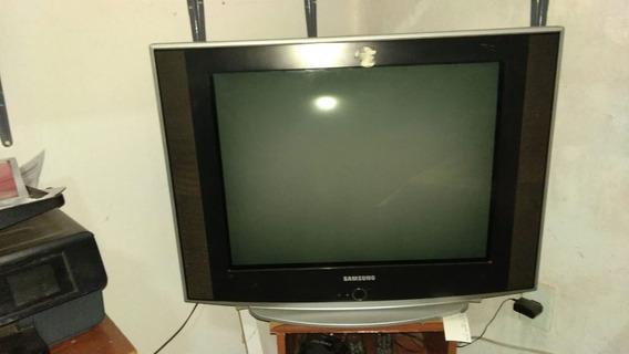 Tv Tubo Tela Plana Samsung 29 Com Conversor Digital