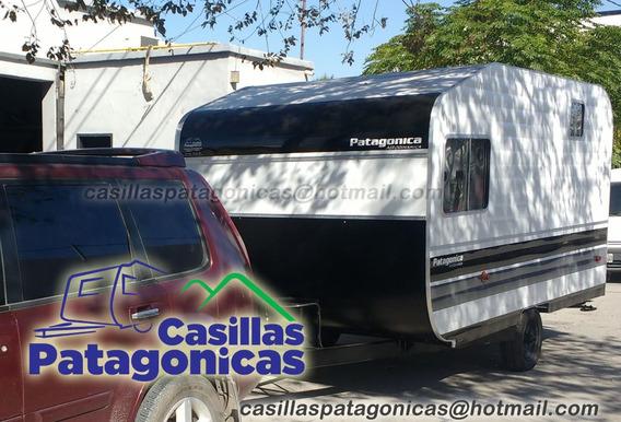 Casa Rodante Patagonica Nueva Modelo 4mts Apta Cordillera