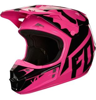 Casco V1 ** Off **race Helmet Adulto Motocross Rosa Fox