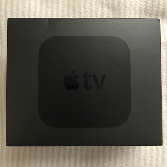 Caixa Vazia E Manual Apple Tv 4 A1625 4k 32gb Mgy52ll/a