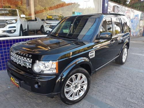 Land Rover Discovery 4 Hse Preta Top 3.0 Bi Turbo Blindada