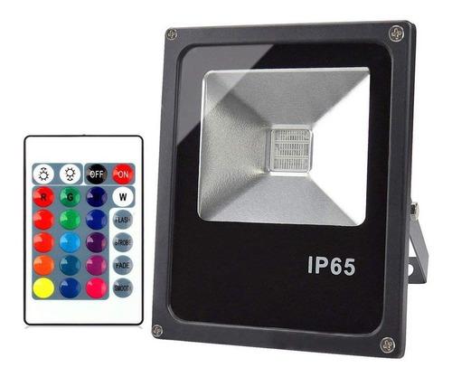 Reflector Foco Rgb Led 50w Ip65 - Calidad Garantizada Unilux