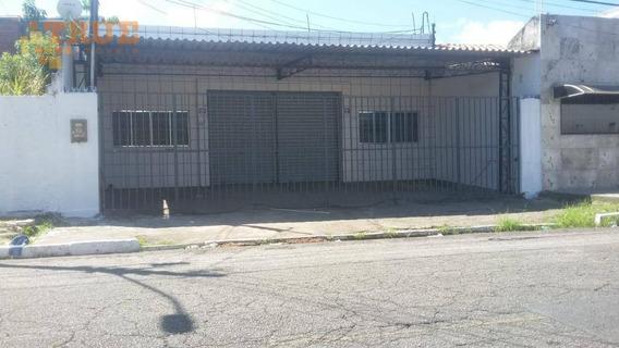 Galpão Para Alugar, 200 M² Por R$ 3.000/mês - Santo Amaro - Recife/pe - Ga0076