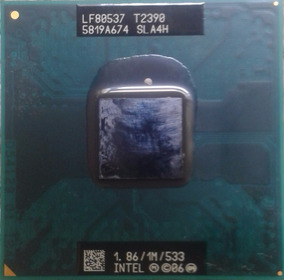Processador Intel Pentium T2390 1,86 Ghz 1mb Cache 533 Mhz