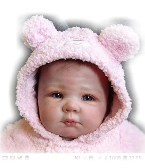 Bebe Reborn Linda Corpo Vinil + Acessórios