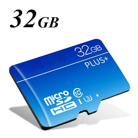 Cart?o De Memoria Micro Sd Hc Com Adaptador 32gb