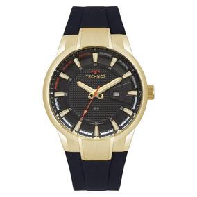 Relógio Technos Masculino Ref: 2117laz/8p Racer Dourado