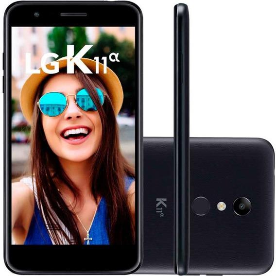 Smartphone Lg K11a Alpha 16gb Câmeras 8mp E 5mp Biometria