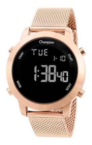 Relógio Champion Feminino Rose Digital Ch40062p