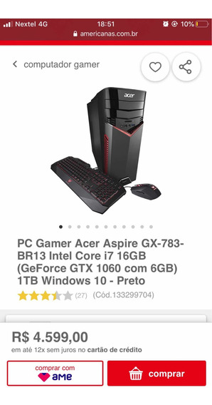 Cpu Gamer Acer