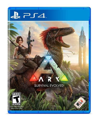 Imagen 1 de 9 de Ark Survival Evolved Formato Físico Ps4 Original