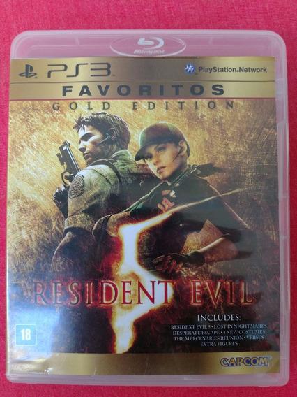 Resident Evil 5 Gold Edition Ps3 Midia Fisica Frete R$10
