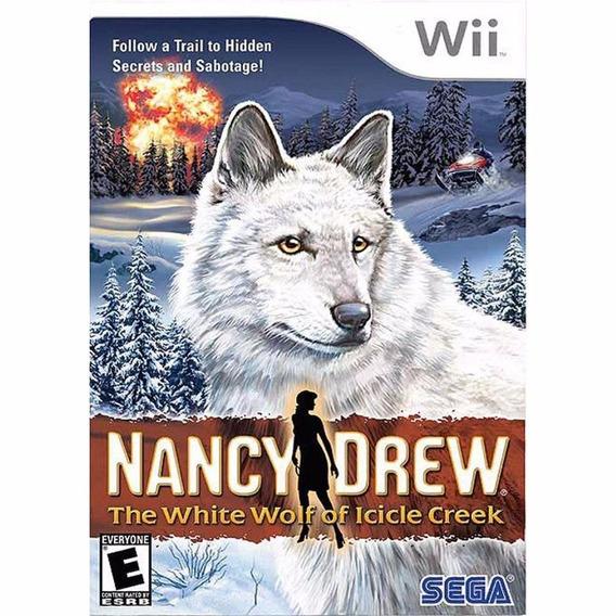 Jogo Nancy Drew The White Wolf Of Icicle Creek Para Wii