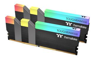 Kit Memoria Ram 16gb Thermaltake Toughram Rgb Ddr4 3200mhz