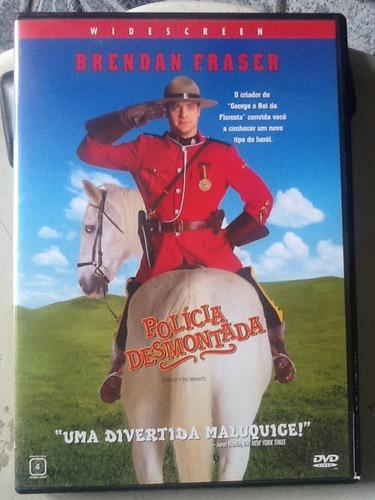 Dvd Polícia Desmontada - C/encarte - Brendan Fraser - Novinh | Mercado Livre