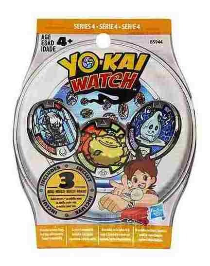 Yo Kai Watch Medallas Combo 2 X 1 Hasbro Oferta !!!
