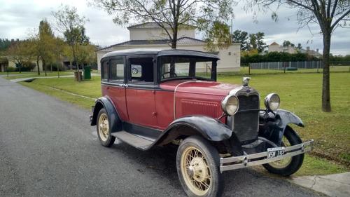 Ford A, Doble Phaeton, 1931