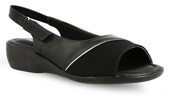 Sandalias Mujer Negras Piccadilly Especial Juanete