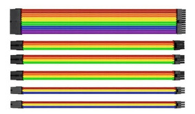 Kit Cabo Sleeved Ttmod Rainbow Ac-049-cn1nan-a1 Thermaltake