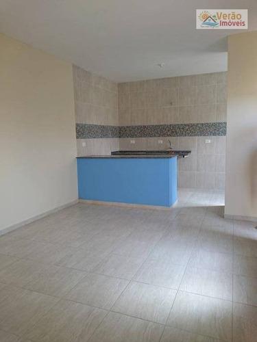 Imagem 1 de 13 de Casa Com 2 Dormitórios À Venda, 75 M² Por R$ 180.000,00 - Jardim Regina - Itanhaém/sp - Ca0198