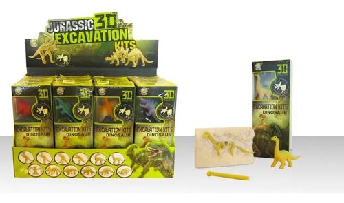 Imagen 1 de 5 de Juego De Excavación Kit Dinosaurio Esqueleto Y Herramienta