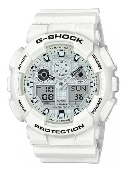Relógio Casio G-schock Masculino Anadigi Ga-100mw-7adr