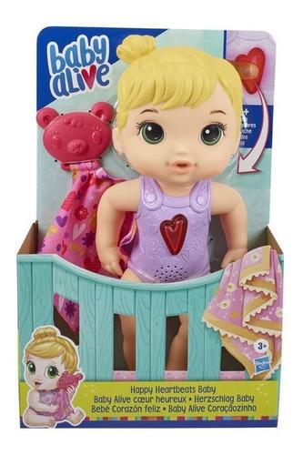 Boneca Baby Alive Coraçãozinho - Loira - Hasbro E6946