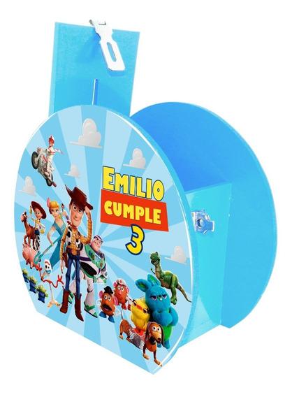 Alcancía Dulcero Centro Mesa Toy Story Todos Personalizado
