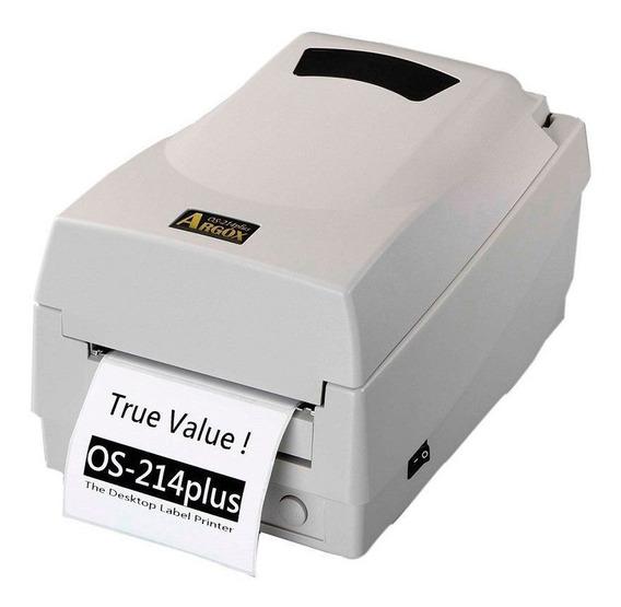 Impressora Térmica De Etiquetas Adesiva Argox Os214 Plus