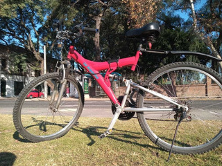 Bicicleta Mtb Rodado 26 Color Rojo