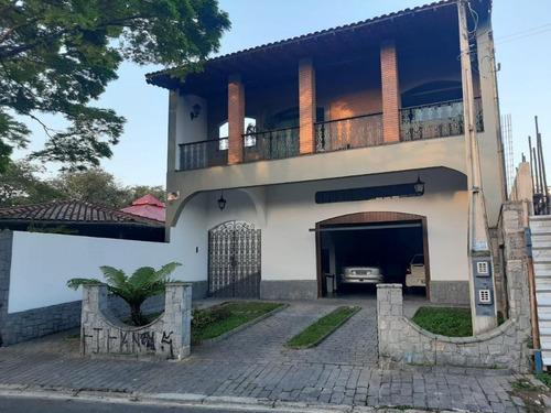 Imagem 1 de 30 de Sobrado Com 3 Dormitórios Mais Edícula, 327 M² - Venda Por R$ 1.200.000 Ou Aluguel Por R$ 4.400/ano - Jardim Planalto - Arujá/sp - So0335