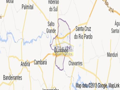 Área  Comercial À Venda, Centro, Ourinhos. - Ar0055