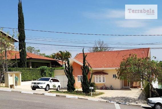 Casa Com 4 Dormitórios À Venda, 212 M² Por R$ 1.100.000,00 - Condomínio Bosques De Grevílea - Vinhedo/sp - Ca0237