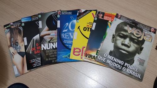 Imagem 1 de 6 de Lote 43 Unidades Revista Veja Oferta