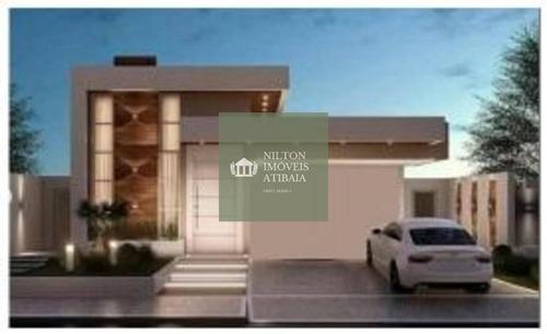 Casa De 3 Quartos Para Venda - Condomínio Buona Vitta - Atibaia - Izm2cbde-183262