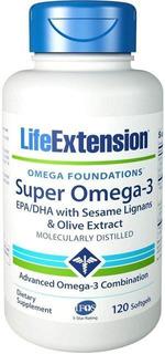 Super Omega 3 (120 Caps) Life Extension