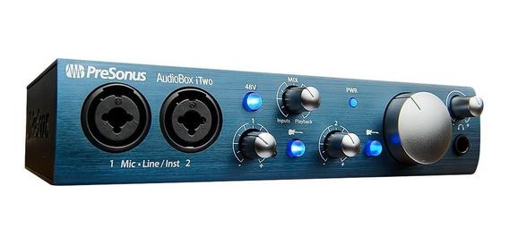 Presonus Audiobox Itwo Interface De Áudio Usb E Ios . Loja !