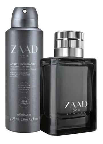 Kit Zaad Go Eau De Parfum E Desodorante Boticário