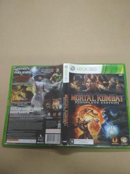 Mortal Kombat Komplete Edition Xbox 360, Seminovo