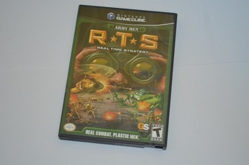 Army Men Rts Real Time Strategy P/ Game Cube / Wii