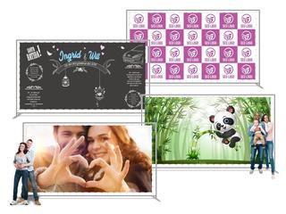 Painel Banner Personalizado Backdrop Chalkboard 2x3 / 3x2