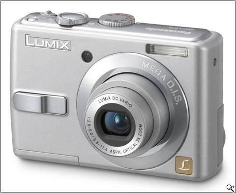 Camera Digital Panasonic Ls70lb-s 7.2mp