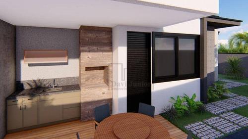 Imagem 1 de 13 de Casa Com 3 Dormitórios À Venda, 100 M² Por R$ 590.000,00 - Condomínio Terras De São Francisco - Sorocaba/sp - Ca2498