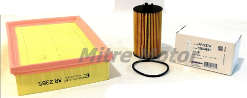 Kit Filtro Aceite Y Aire Chevrolet Tracker 1.8 16v